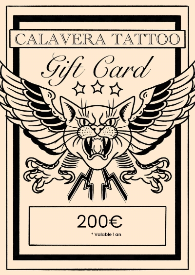 CALAVERA TATOUAGE TATOUAGE Rennes 200 508