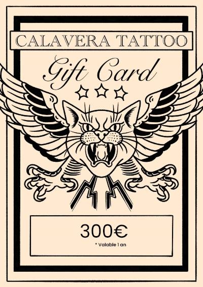 CALAVERA TATOUAGE TATOUAGE Rennes 300 510